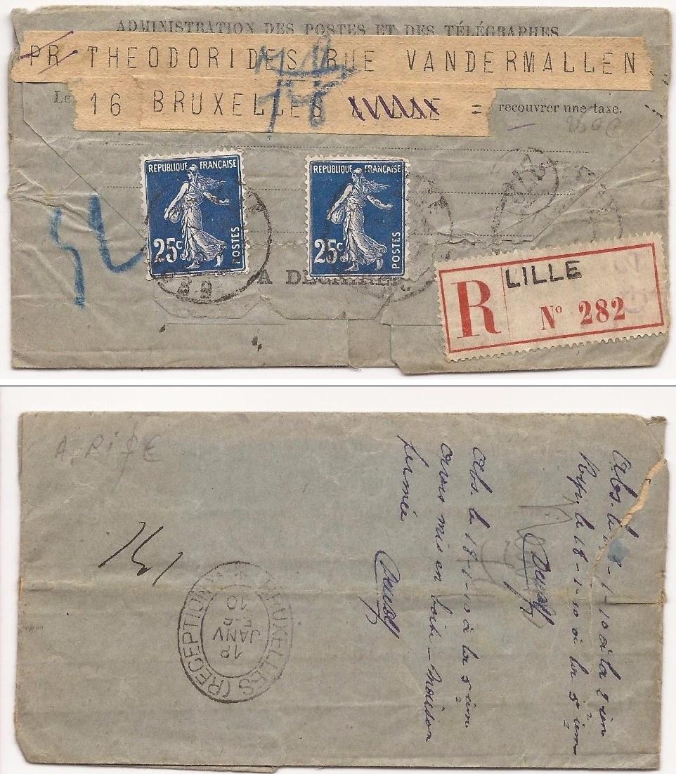 Télégramme pour l'étranger Tzolzo12