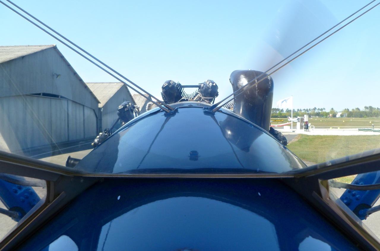 En PT-17 au dessus du bassin d'ARCACHON  . P1030611