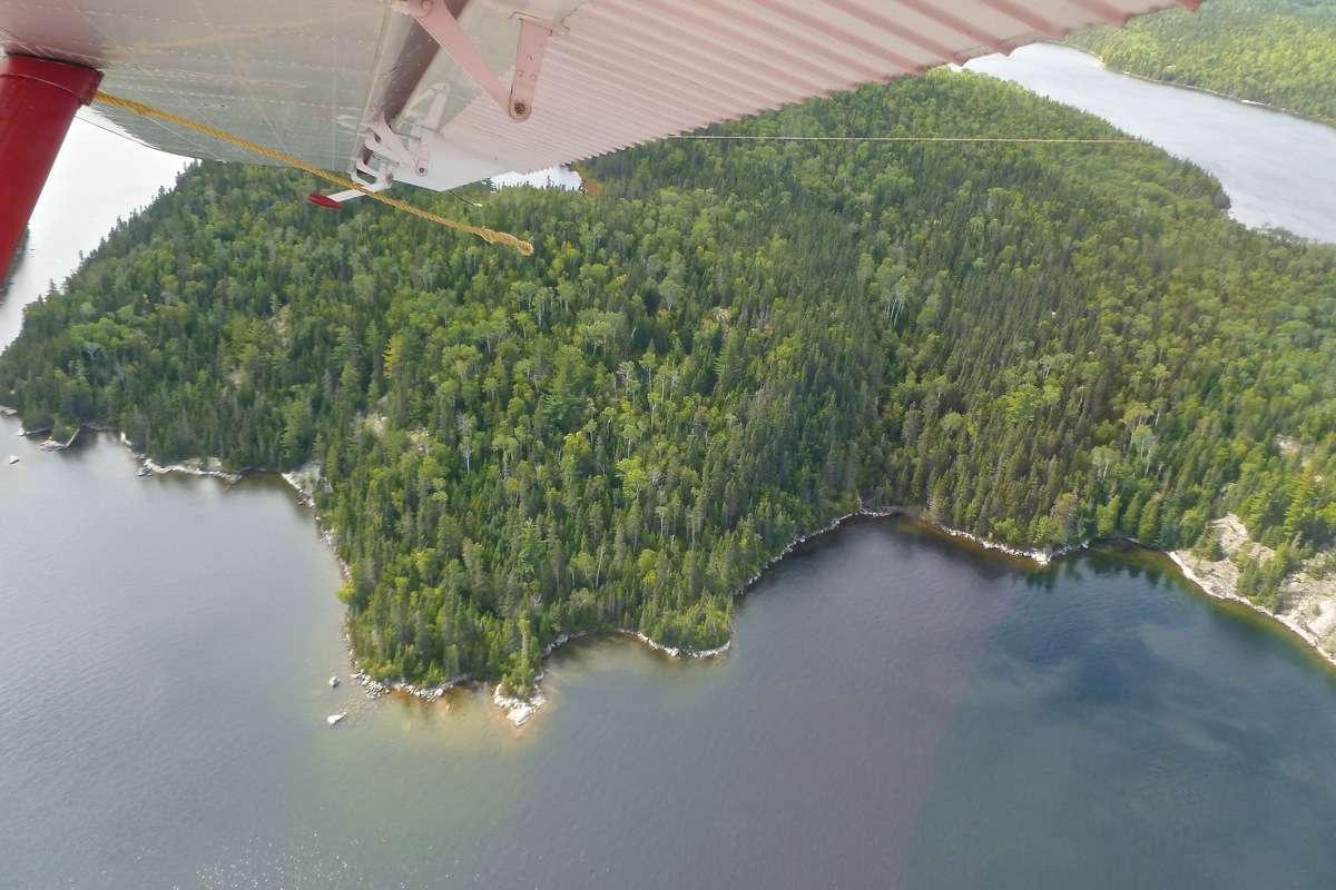 En D.H.C. Beaver au dessus du Québec.  FIN le 05/03/2015 - Page 3 P1030923