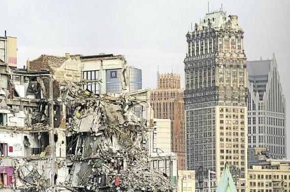 La ville de Detroit en faillite 58799110