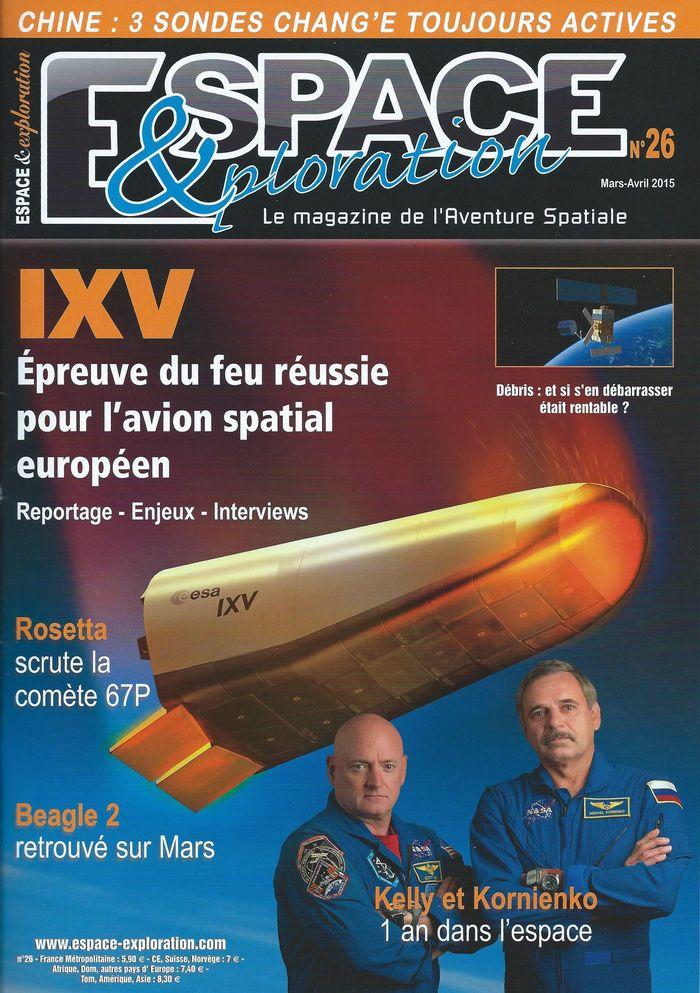 Espace & Exploration n°26: IXV épreuve du feu réussie 15030010