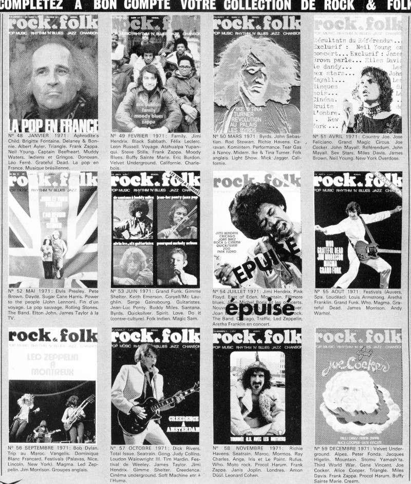 retro Rock et Folk 197110