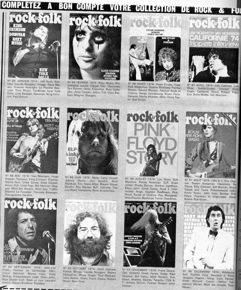 retro Rock et Folk 197410