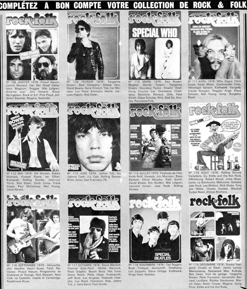 retro Rock et Folk 197610