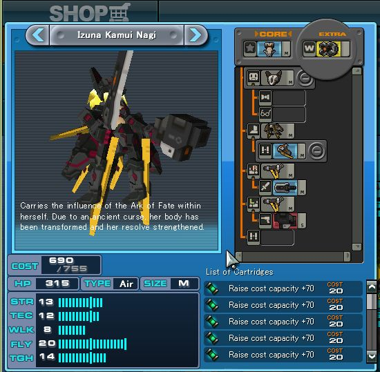 """Tesladonna"" best strategy, ""Izuna Kamui Nagi"" best weapons ? Izuna10"