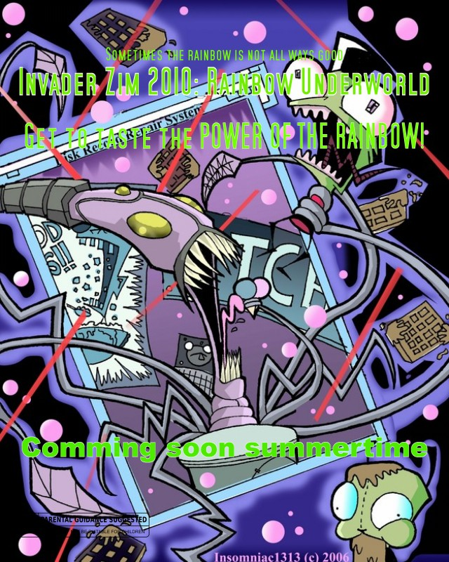 Invader Zim 2010: Rainbow Underworld Rainbo12