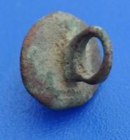 Joli bouton à téton en bronze - XV / XVIème Dsc_0610