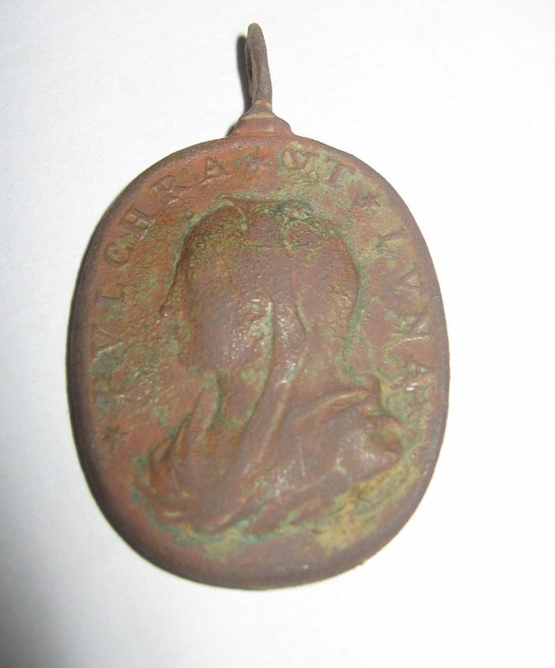 Médaille Jésus et Marie - XVIIème Img_4812