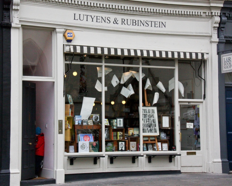 Les meilleures librairies de Londres Lutyen11