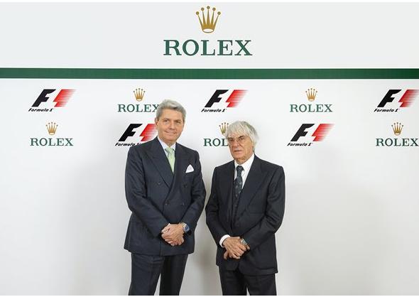Les marques de montres et l'automobile Rolex-10