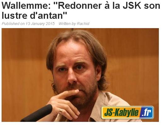 News de la JSKabylie (4) 20150119