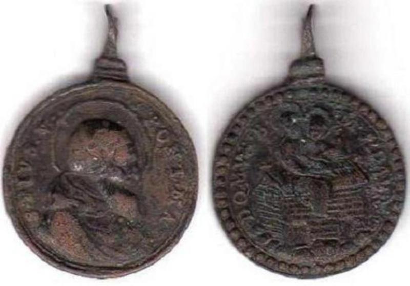 Médaille San-Venancio de Camerino (Italie) - XVIIème 71398r10
