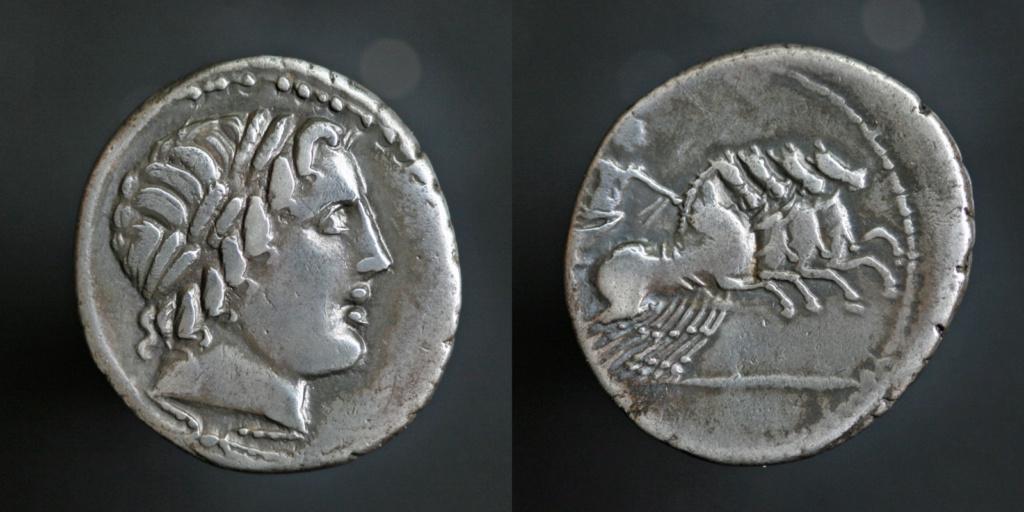 Denier anonyme de la République (86 BC) Anonym11