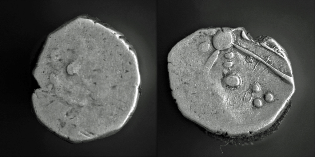 Monnaie à la croix à identifier Cadurq10