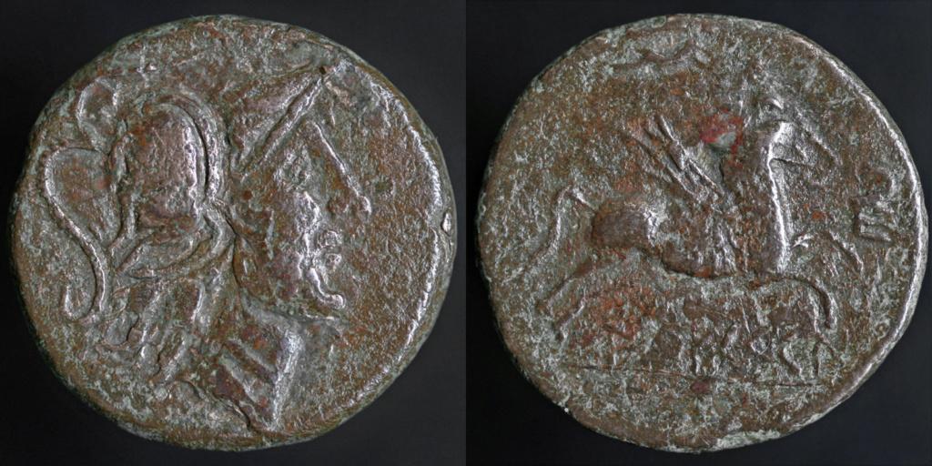 Bronze Indigètes pas courant Castul10