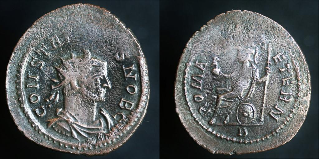 Antoninien de Constance Ch - Maximien Consta10