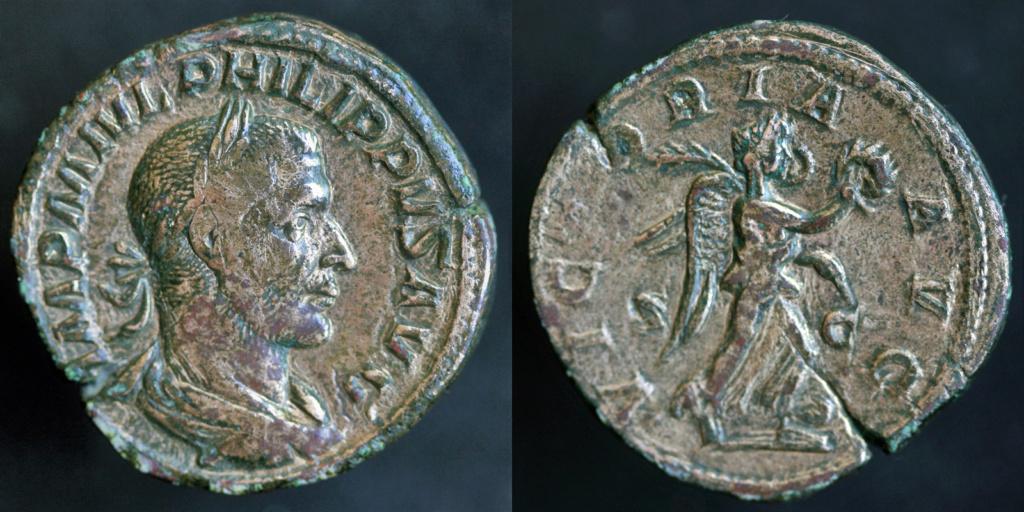 Dupondius Philippe 1 l'arabe Philip12