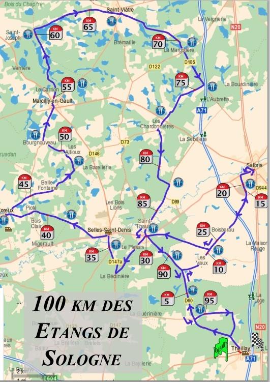 100/50km de Sologne (41) :15h30 / 7h00: 31 août 2013 100_km10