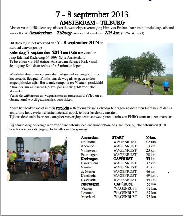 Amsterdam-Tilburg, 125 km en ligne(ou 80, 40, 25) 7-8/9/2013 Amster10
