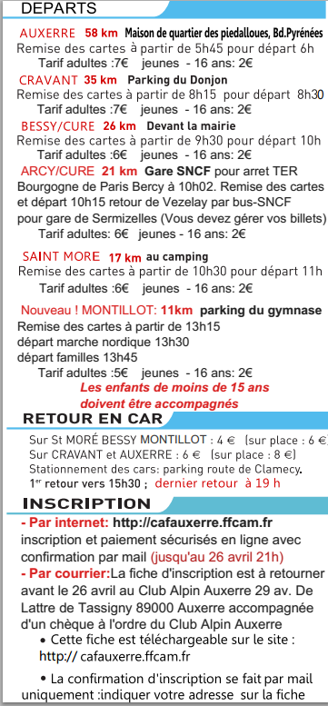 Auxerre-Vezelay 58, 35, 26, 21,... km: 26 avril 2015 Auxvez10