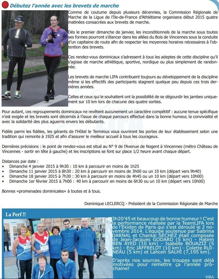 Brevets de Vincennes: 10, 20, 30, 40 km: janv-fév 2015 Brevet10