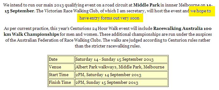 épreuve centurions australiens (161km): 14-15 septembre 2013 Centur10