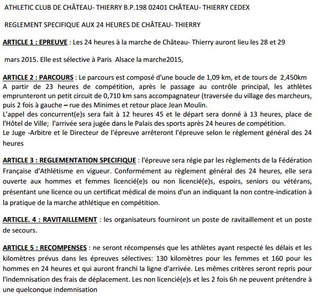 24 H de Chateau-Thierry 28:29 mars avec Europe Télévision Chthry10