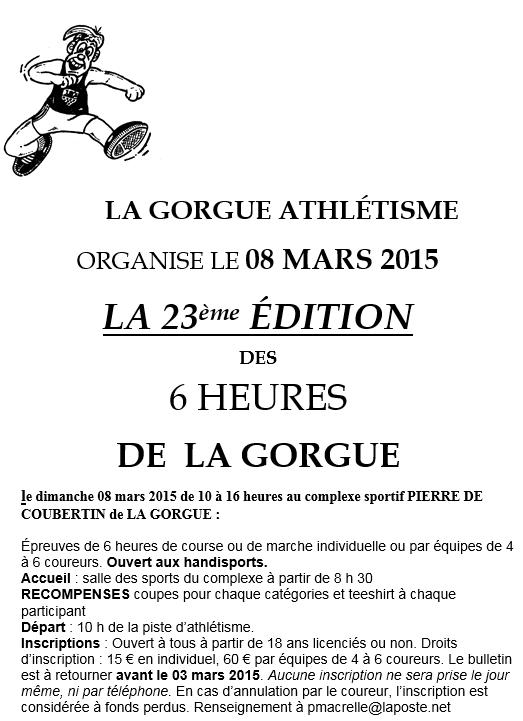 6 heures de La Gorgue (59): 8 mars 2015 Lagorg10
