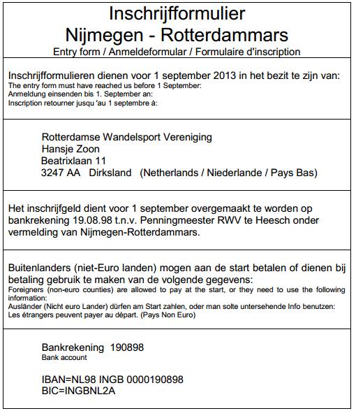 160km en ligne: Nimègue-Rotterdam: 21-22 septembre 2013 Nimagu12
