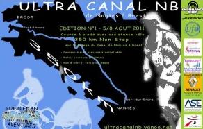 2-5 août 2013 Ultracanal Nantes Brest:  ANNULEE Ultrac10