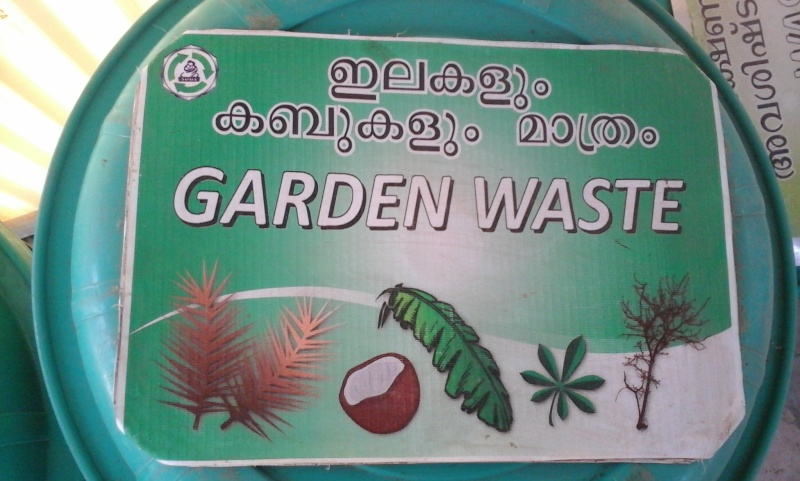 Le recyclage à l'ashram d'Amma 1110