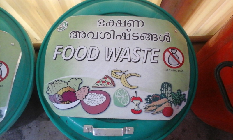 Le recyclage à l'ashram d'Amma 410