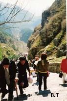 La Chine Sac au dos (5) : Trois étudiants dans le Shandong chez Confucius et au Taishan Escali10