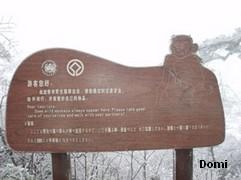 La Chine sac au dos (7) : Une des Montagnes Bouddhistes. Le  Mont Emeishan: ascension en janvier 2008 Les_si10