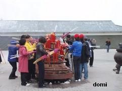 La Chine sac au dos (7) : Une des Montagnes Bouddhistes. Le  Mont Emeishan: ascension en janvier 2008 Paleri10