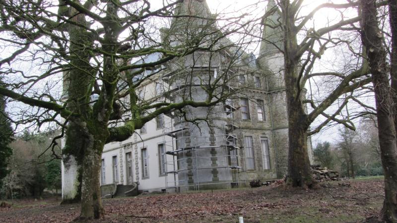 Chateau de Coat an Noz dans les Côtes d'Armor  00210