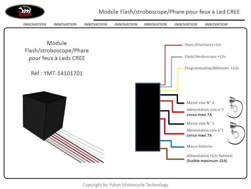 Recherche module stroboscope pour feux leds cree Module11