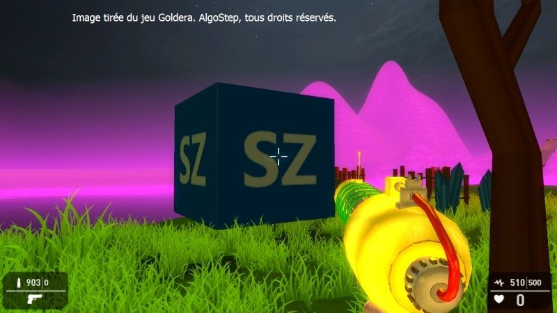 [MINI-JEU 3D] Goldera - FPS Amusement Gld110