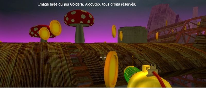 [MINI-JEU 3D] Goldera - FPS Amusement Gld310