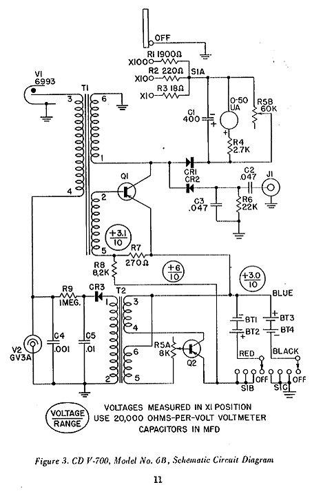 Un projet de compteur geiger à transistors Cdv70010