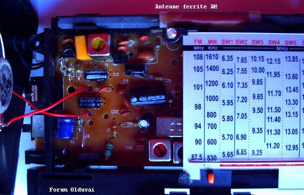 Radio petit budget AM FM Ondes courtes 8 bandes Scott Azyo Circui10