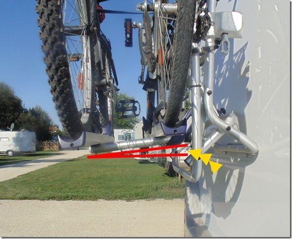 Problème avec le porte-vélos Thule OmniBike Lift Ob0210
