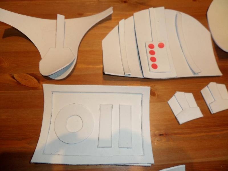 Projet armure Stormtrooper enfant en mousse polyuréthane Sam_1811