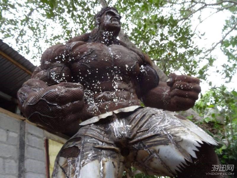 Ces ferrailleurs scultent la pop culture  Hulk10