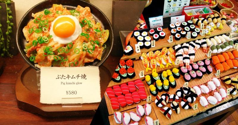 Sampuru : des faux plats qui présentent les répliques en plastique des différents menus des restaurants Une-sa10