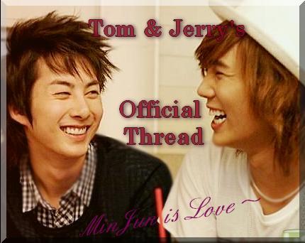 {PAIRING} - MinJun alias Tom&Jerry ♥ Yjy10