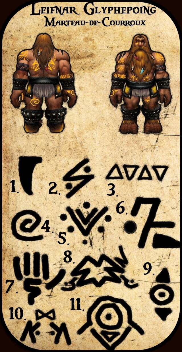 Leifnar Glyphepoing, la légende du Clan Leifna11