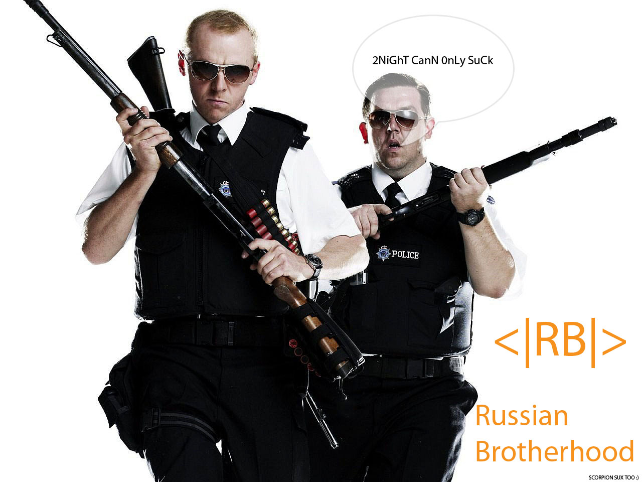 Russian Brotherhood SWAT4 клан 1.0 и TSS