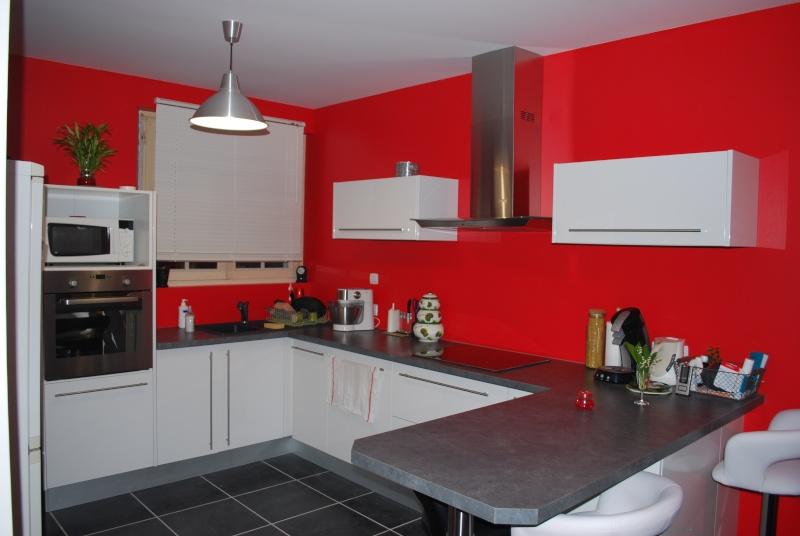 cuisine blanche ouverte sur le salon page 2. Black Bedroom Furniture Sets. Home Design Ideas