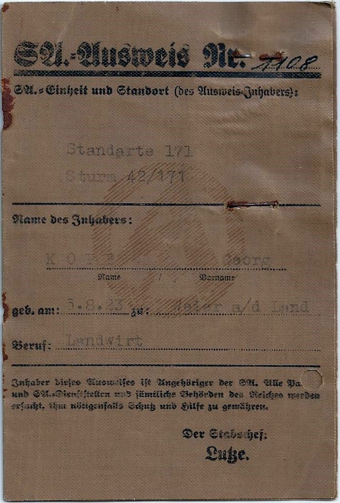 Vos livrets militaires allemands WWII (Soldbuch, Wehrpass..) / Heer-LW-KM-SS... - Page 2 Scan0057